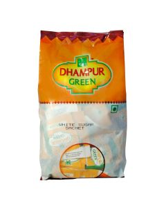 Dhampur Green Sugar Sachets 500 gm