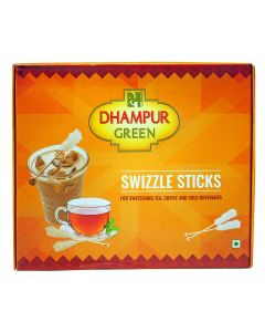Dhampur Green Swizzle Stick 8 Pieces