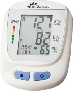 Dr. Morepen Blood Pressure Monitor BP-09 (White)