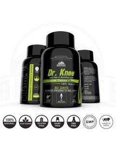 Riverlife Dr. Knee Natural Joint Pain Reliever Medicine - Increases Synovial Fluid to Help with Joint Movement (60 Capsules   1month pack)