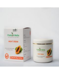 Pramukh Herbs Night Cream - 50 g