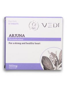 Vedi Arjuna 500mg (15 Tablets)