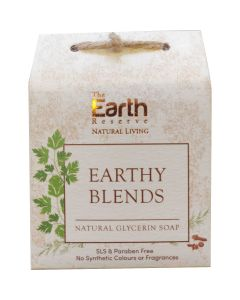 The Earth Reserve Earthy Blends Natural Glycerin Soap - 100 gm