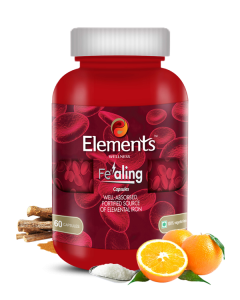Elements Wellness Fealing Iron 60 Capsules