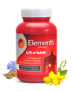 Elements Wellness Liv a Gain 60 Caps