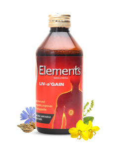 Elements wellness Liv a Gain Liquid 400ML (Pack Of 2)