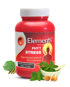 Elements wellness Phyt Stress caps60