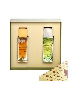 Eternal giftset for him and her Jasmine + Vetiver 100ml