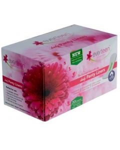 everteen Daily Panty Liners With Antibacterial Strip for Light Discharge and Leakage in Women - 1 Pack (30 Panty Liners)
