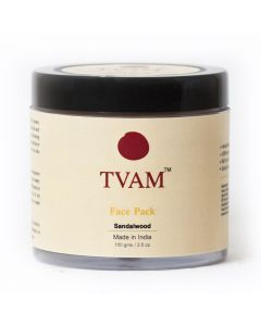 Tvam Face Pack - Sandalwood - 100 gms