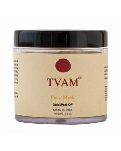 Tvam Face Mask - Gold Peel off - 100gms