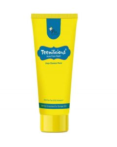Teenilicious Oil Control, Tan Remover, Skin Glowing Face Wash For Women and Girls, 60 g