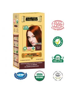 Indus Valley Botanical Flame Red Hair Color