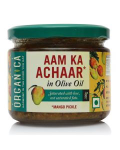 Organica Olive Oil Mango Pickle 300 g