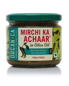Organica Olive Oil Chilli Pickle 300 g
