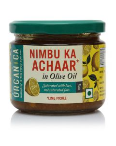 Organica Olive Oil Lime Pickle 300 g