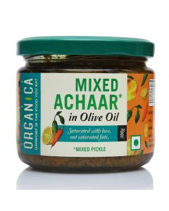 Organica Olive Oil Mixed Pickle 300 g