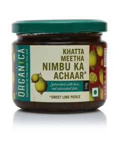 Organica Sweet Lime Pickle 300 g