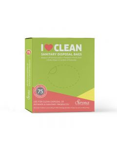 Sanitary and Diapers Disposal Bag by Sirona 75 Bags
