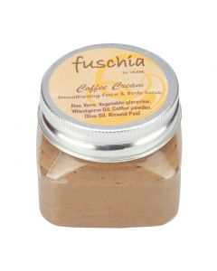 Fuschia Coffee Cream Smoothening Face & Body Scrub 100gm