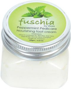 Fuschia Peppermint Pedicare Nourishing Foot Cream 100gm
