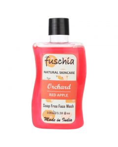 Fuschia Orchard Red Apple Soap Free Face Wash 100ml