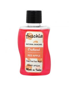 Fuschia Orchard Red Apple Soap Free Face Wash 50ml