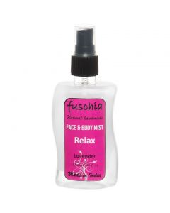 Fuschia Relax Lavender Face & Body Mist 100ml