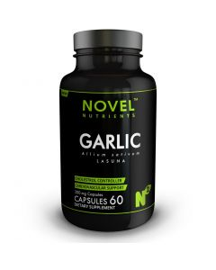 LASUNA ( GARLIC ) 300 MG CAPSULES- CARDIOVASCULAR SUPPORT