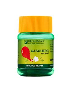 Dr. Vaidya's Gasoherb Pills - Ayurvedic Treament for Gas and Indigestion - Pack of 2