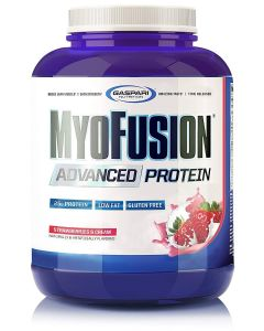 Gaspari Nutrition MyoFusion Advanced Protein, 4lbs Strawberry Cream