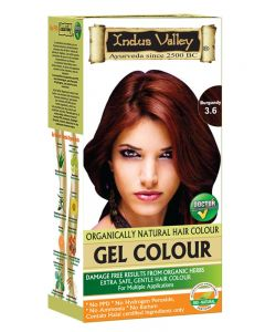 Indus Valley Organically Natural Hair Color  (Burgundy)