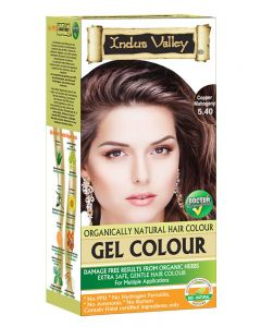 Indus Valley Organically Natural Hair Color  (Copper Mahogany)