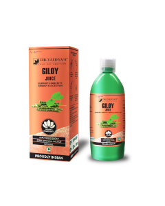 Dr. Vaidya's Giloy Juice - Supports Immunity , Energy & Digestion (1 LTR) - Vegetarian , Zero Added Sugar