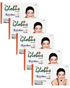 Globus Ketobus- Z Soap Pack of 5