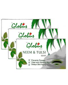 Globus Neem & Tulsi Soap Pack of 3