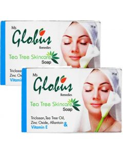 Globus Tea Tree Skincare Soap Pack of 2