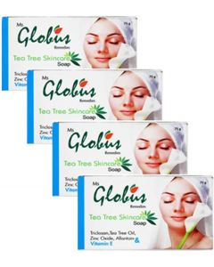 Globus Tea Tree Skincare Soap Pack of 4