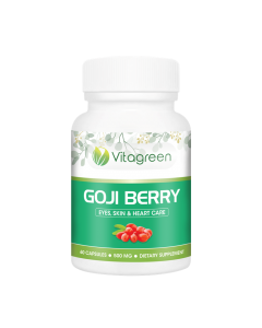 Vitagreen Goji Berry 500mg 60 Capsules