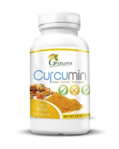 Grenera Curcumin 90 Vegetarian Capsules Bottle700mg