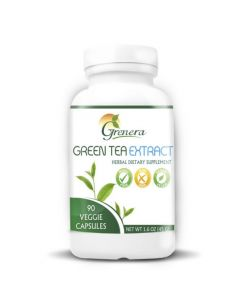 Grenera Green Tea Extract 90 Capsules Bottle