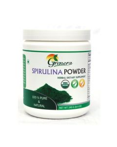 Grenera Spirulina Powder 240gm Jar