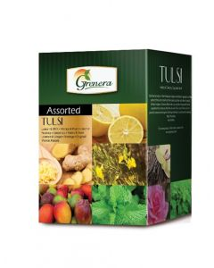 Grenera Tulsi Assorted Infusion - 20 Tea Bags Box