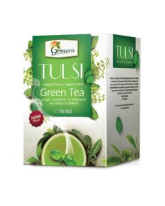 Grenera Tulsi Green Infusion - 20Tea bags box