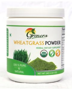 Grenera Wheatgrass Powder 240gm Jar
