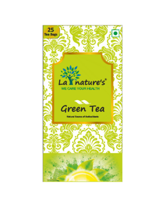 La Nature's Green Tea (25 Tea Bags)