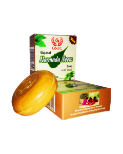 Gujarat Narmada Neem Soap with Tulsi (Pack of 6)