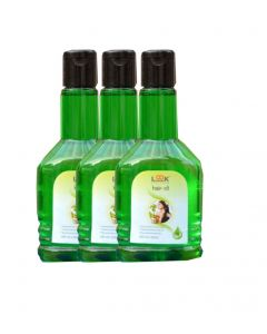 Look 18 Herbal Hairoil 100ml (Pack of 3)