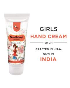 Teenilicious Hand Whiteninig Cream Vitamin E Hand Cream With Vanilla Pomegranate, jojoba & Shea Butter For Men and Women, 60 Gm