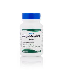 Healthvit Acetyl-L-Carnitine 500mg 60 Capsules